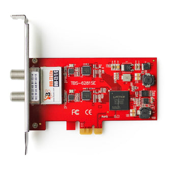 TBS6281SE DVB-T2/T/C TV Tuner PCIe Card