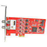 TBS6704 ATSC/ Clear QAM Quad Tuner PCIe Card