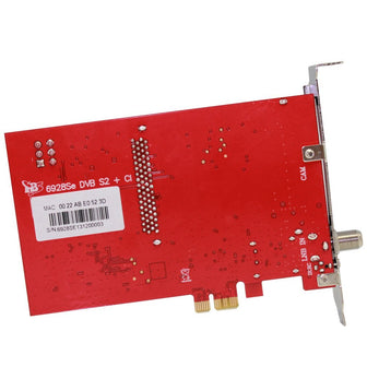 TBS6928SE PCIe DVB-S2 TV Tuner Card with CI