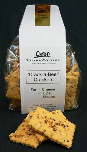 'Crack a Beer' Crackers