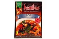 bamboe - SOP INSTANT SPICES FOR CHICKEN / BEEF / OXTAIL SOUP - 6 x 1.7 OZ / 49 g - Product of Indonesia