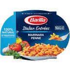Barilla Mezze Penne With Traditional Marinara Sauce 9OZ (Pack of 12)