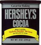 Hershey's Cocoa, Unsweetened, 8-Ounce Container (Pack of 24)