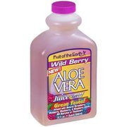 Fruit Of The Earth Aloe Vera Whole Leaf Wild Berry Flavor Juice, 32 fl oz(Pack of 4)
