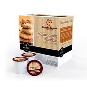 Gloria Jean's K-Cups Macadamia Cookie Coffee, 18ct(Case of 2)