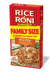Rice-A-Roni Rice Pilaf Family Size Rice Blend, 14.4 Ounce