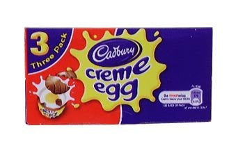 Easter Eggs By Cadbury Pack 3 Creme Eggs