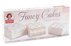 Little Debbie Fancy Cakes, 4 Boxes of 10