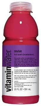 Glacéau Vitaminwater Revive Fruit Punch (b+potassium) 20 oz