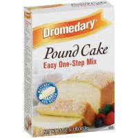 Dromedary Pound Cake Easy One-step Mix, 16 Oz (Case of 12)