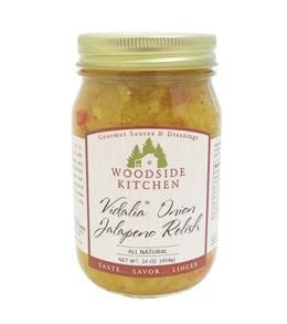 Woodside Kitchens VIdalia Onion Jalepeno Relish 16 oz