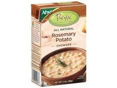 Pacific Natural Foods Rosemary Potato Chowder 17.6 Oz (Pack of 12)