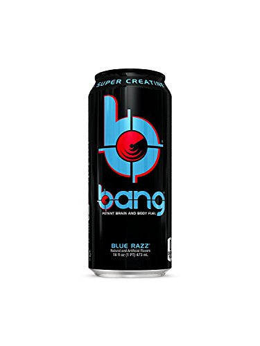 Vpx Bang - Blue Razz - 16fl.oz. (Pack of 4)
