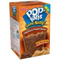 Pop-tarts Gone Nutty Frosted Chocolate Peanut Butter Toaster Pastries (Pack of 6)