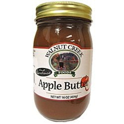 Fruist Sweetened Amish Apple Butter 16oz Jar Hand