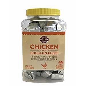 Wellsley Farms Chicken Flavored Bullion Cubes, 75 ct.