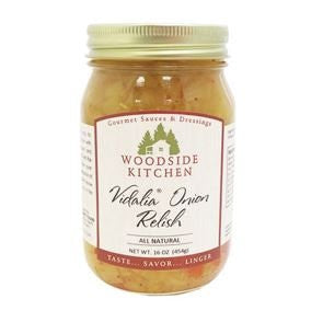 Woodside Kitchens VIdalia Onion Relish 16 oz