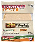 Gluten-free Uncooked Corn Tortillas By Tortillaland
