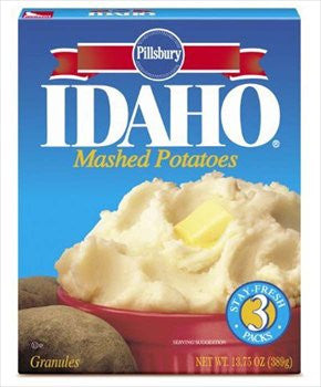 Idaho Mashed Potato Granules 13.75