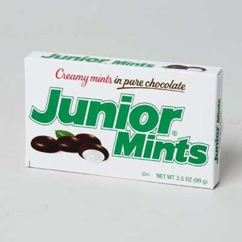 JUNIOR MINTS SHIPPER 3.5 OZ 0, Case Pack of 72