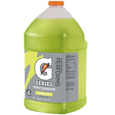 Gatorade 1 Gallon Liquid Concentrate (Various Flavors) Yields 6 Gallons - Flavor: Lemon Lime
