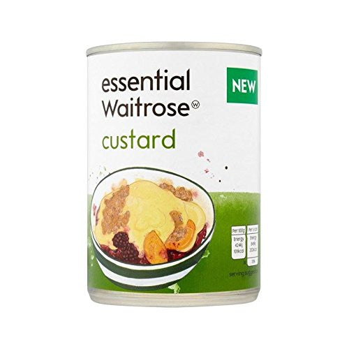 Custard essential Waitrose 400g - Pack of 6