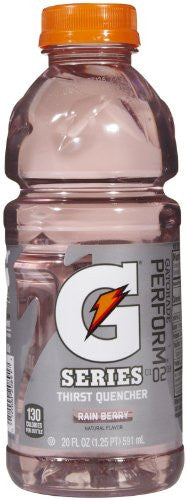 Gatorade Rain Berry Gatorade - 20 oz - 8 ct