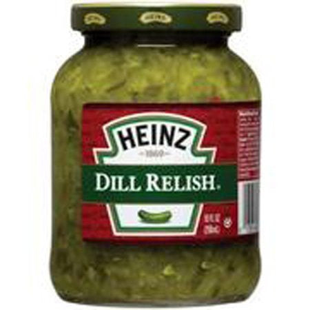Heinz Dill Relish 10 Oz (Pack of 3)
