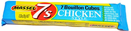 "VEGAN Bouillon Cubes ""Chicken"" Style Massel 7's No Onion or Garlic Gluten Free"