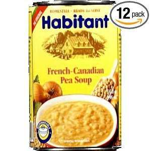 Habitant Yellow Pea Soup, 14-Ounce (Pack of 12)