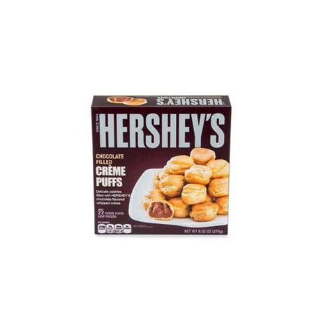Patissa Hersheys Chocolate Mini Creme Puff -- 132 per case.