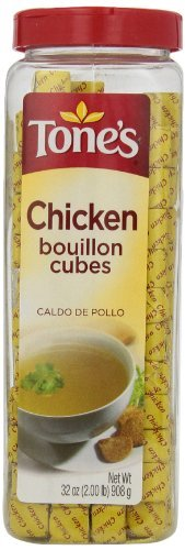 Tone's Bouillon Cubes, Chicken, 32 Ounce
