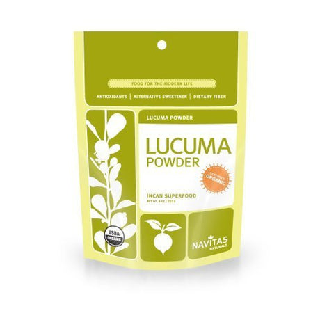 Navitas Naturals Organic Lucuma Powder, 8-Ounce Pouches (Pack of 2) by Navitas Naturals [Foods]