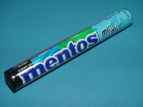 1 Roll of Mentos Chewy Dragees Candy - Mint Mix Flavour Made in Thailand