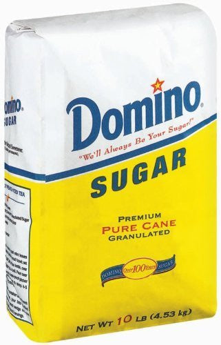 Domino Sugar, Granulated, 10-Pound Bags by Domino [Foods]
