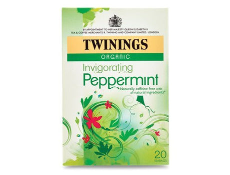 Twinings (Pack Of 4) - Org Peppermint Tea 20 Bag