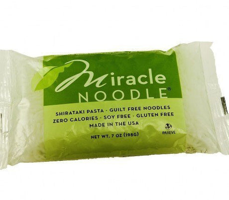 Miracle Noodle Shirataki Angel Hair Noodles 10 Pack by Miracle Noodle