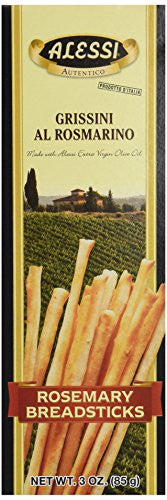 Alessi Rosemary Breadsticks, 3 oz