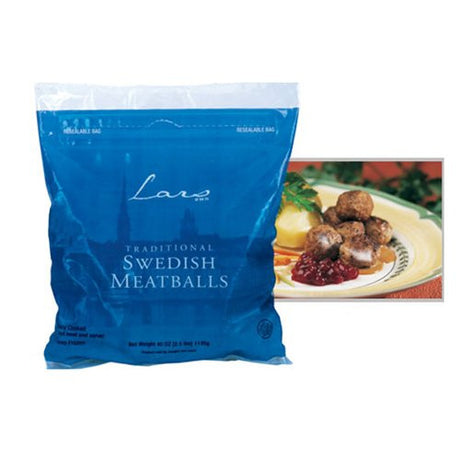 Swedish Meatballs by Lar's Own - 2.5 Pound Bag (2.5 pound)