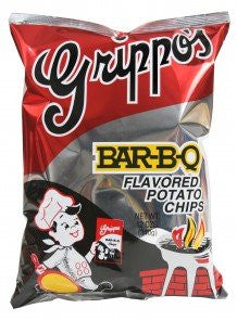 Grippo's BBQ Potato Chips (6 - 12oz Bags)