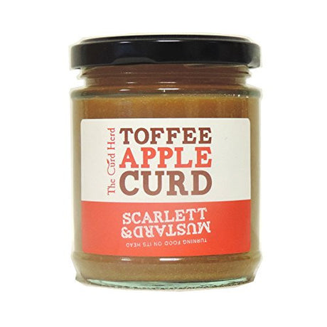 The Curd Herd by Scarlett & Mustard - Toffee Apple Curd (7.4 ounce)