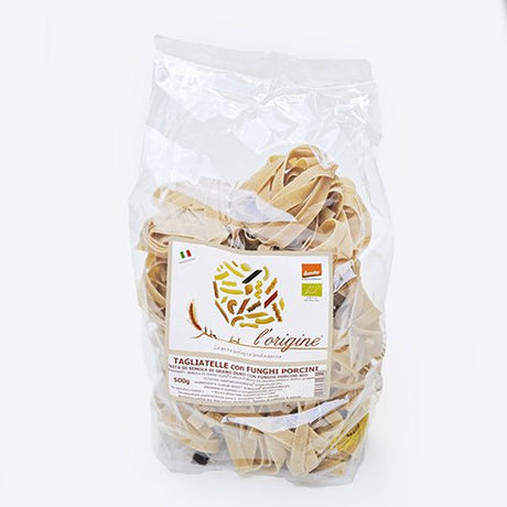 Organic Tagliatelle with Porcini by L'Origine (17.6 ounce)