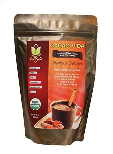 Organic Cacao Powder with Turmeric