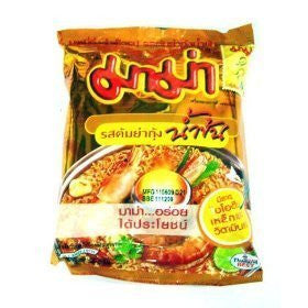 Mama Brand Instant Noodles - Shrimp Creamy TOM YUM Made in Thailand