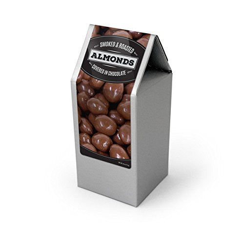 Almonds, Chocolate Covered, Silver Box 48ct/4.0oz