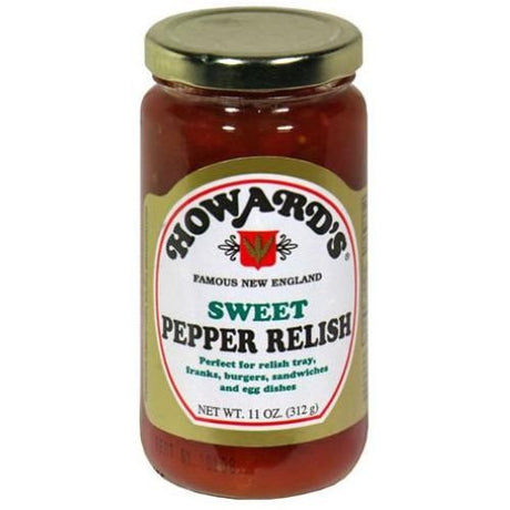 Howard Sweet Pepper Relish 11 oz - 4 Unit Pack