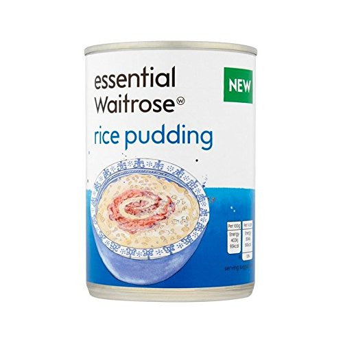Rice Pudding essential Waitrose 400g