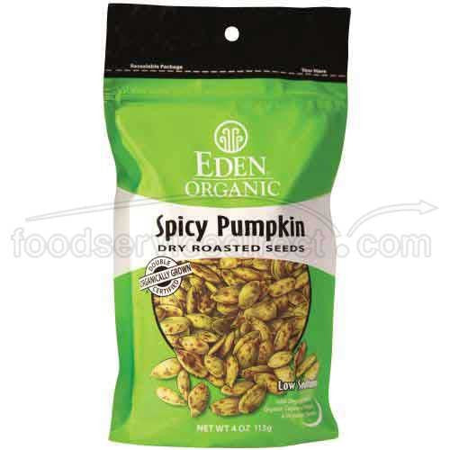 Eden Foods Organic Spicy Pumpkin Seeds, 10 LB