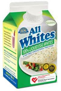 CRYSTAL FARMS LIQUID EGG WHITES ALLWHITES 16 OZ CARTON PACK OF 4