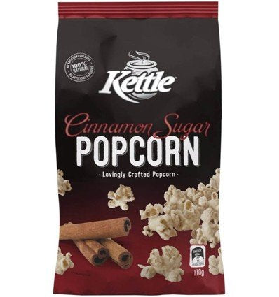 Kettle Popcorn Cinnamon Sugar 110g